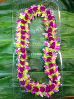 Indiana Jackie Orchid Lei - AVAILABLE ONLY DURING MAY & JUNE or for orders over 20 lei.