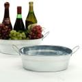 12 inch Oval Galvanized Deep Tin Tub