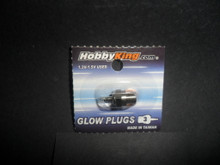 Glow Plug - Standard Thread - #3 - 0% to 7% Nitro - (HK-3)