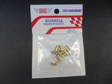 Brass Eyelets  - 3/32 I.D. - (SIGSH214)