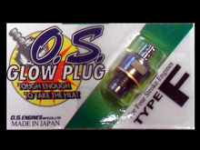 OS Glow Plug - (Type F) - for 4 Stroke engines