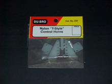 Control Horn - Nylon 'T'-Style - (DU-237)