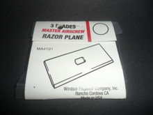 Replacement Blades  (for Razor Plane 4100) - (MA-4101)