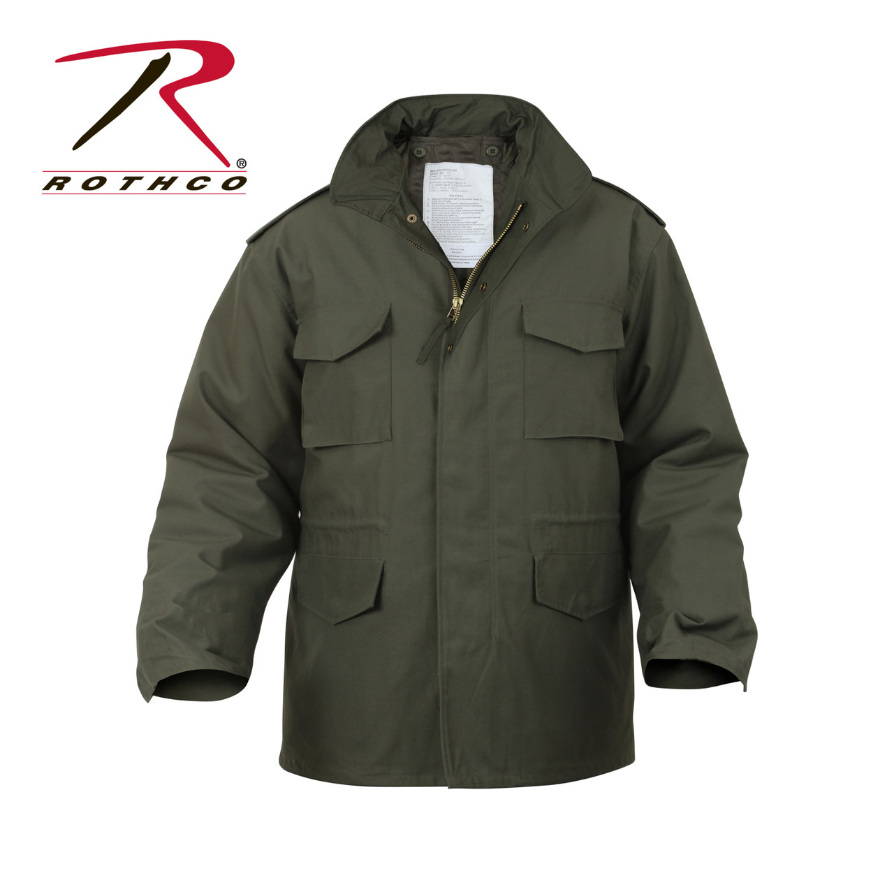 Rothco s M-65 Jackets are a classic piece of military outerwear. The jacket  features a8b496d0eff