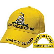 CAP-DONT TREAD ON ME (BRASS BUCKLE)