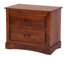 ABC HC406 2-Drawer Nightstand