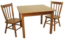 MCS 079-075 Kids Square Table and Chairs