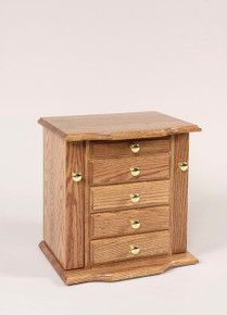 "WS 310 17½"" Dresser Top Jewelry Cabinet"