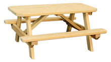 WV 901 Child's Table w/ benches