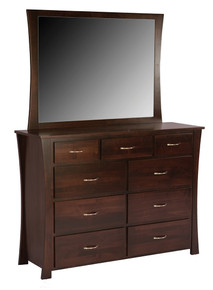 ABC AB521 Tall Dresser w/mirror