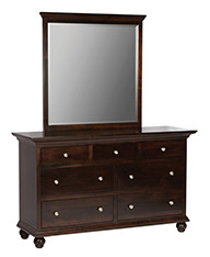 ABC GB801 Dresser w/mirror