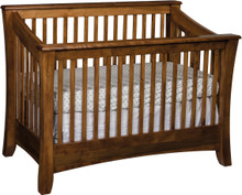JR Carlisle Slat Crib (Convertible)