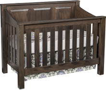 JR Mission Panel Crib (Convertible)