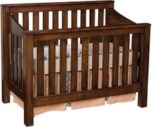 JR Mission Slat Crib (Convertible)