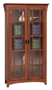 GO-3311 Mission Double Door Bookcase