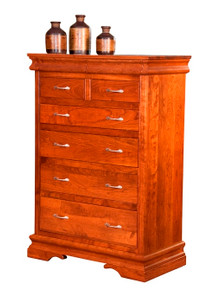 BF Heirloom Sleigh Chest of Drawers