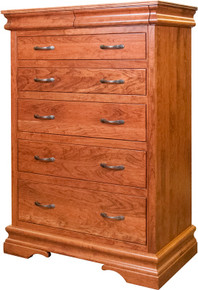 BF Heirloom Sleigh 5-Drawer Chest