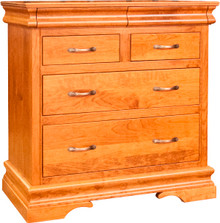 BF Heirloom Sleigh 4-Drawer Chest