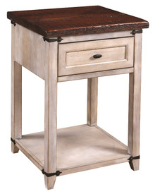 CWF6027R Farmhouse Heritage 1-Drawer Nightstand