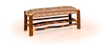 BRG Rustic Plain Bench