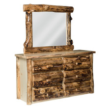 Colorado Aspen Dresser & Mirror