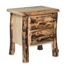 Colorado Aspen 2 Drawer Nightstand