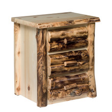 Colorado Aspen 3 Drawer Nightstand