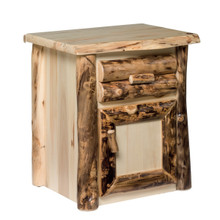 Colorado Aspen Nightstand with Door
