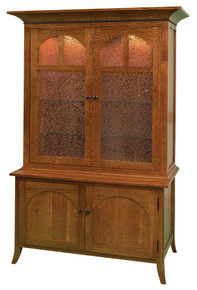 GO-5008 10 Gun Cabinet, Mt. Eaton Style