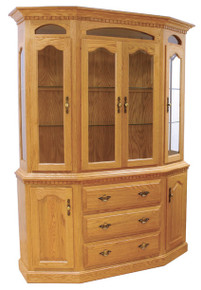 Canted Hutch w/ options