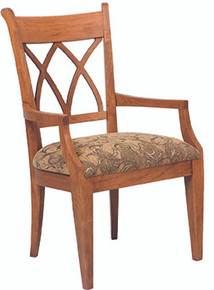 Crossback Arm Chair