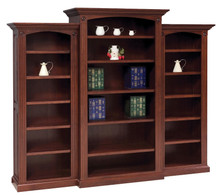 GO-3103 5-Shelf Deluxe Bookcase 3-Piece Set