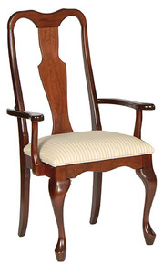 Queen Anne Arm Chair #3
