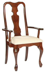 Queen Anne Arm Chair #1