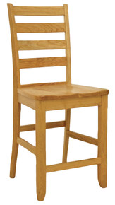 Shaker Ladderback Bar Chair