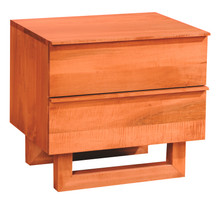 Nobleza Small Nightstand - 2 Drawer
