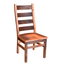 Barnwood Ladderback Side Chair