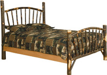 BRG Rustic Sunburst Bed