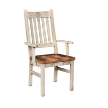 Barnwood Farmhouse Arm Chair