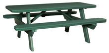 WV 301-P Poly Picnic Table