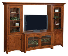 Modern Shaker TV Bridge Unit