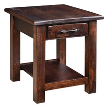 BF-2224-DS Barn Floor End Table