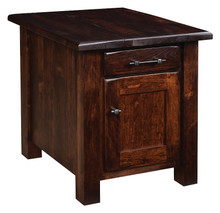BF-2224-DD Barn Floor End Table