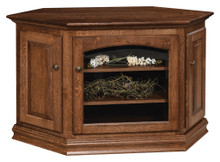 AO-55731-C Traditional Corner TV Stand