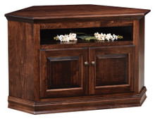 AO-50728-C Traditional Corner TV Stand