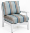 "CTLSC2934 Classic Terrace Left Arm Club Chair 29""W x 33""D x 34""H"