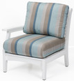 "CTRSC2934 Classic Terrace Right Arm Club Chair 29""W x 33""D x 34""H"