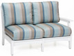"CTLSL5334 Classic Terrace Left Arm Love Seat 53""W x 33""D x 34""H"