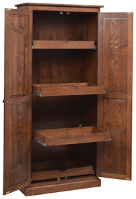 GO-118 Pantry Cupboard w/Pull-Out