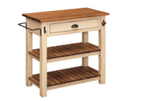 J-76 Pine Kitchen Island